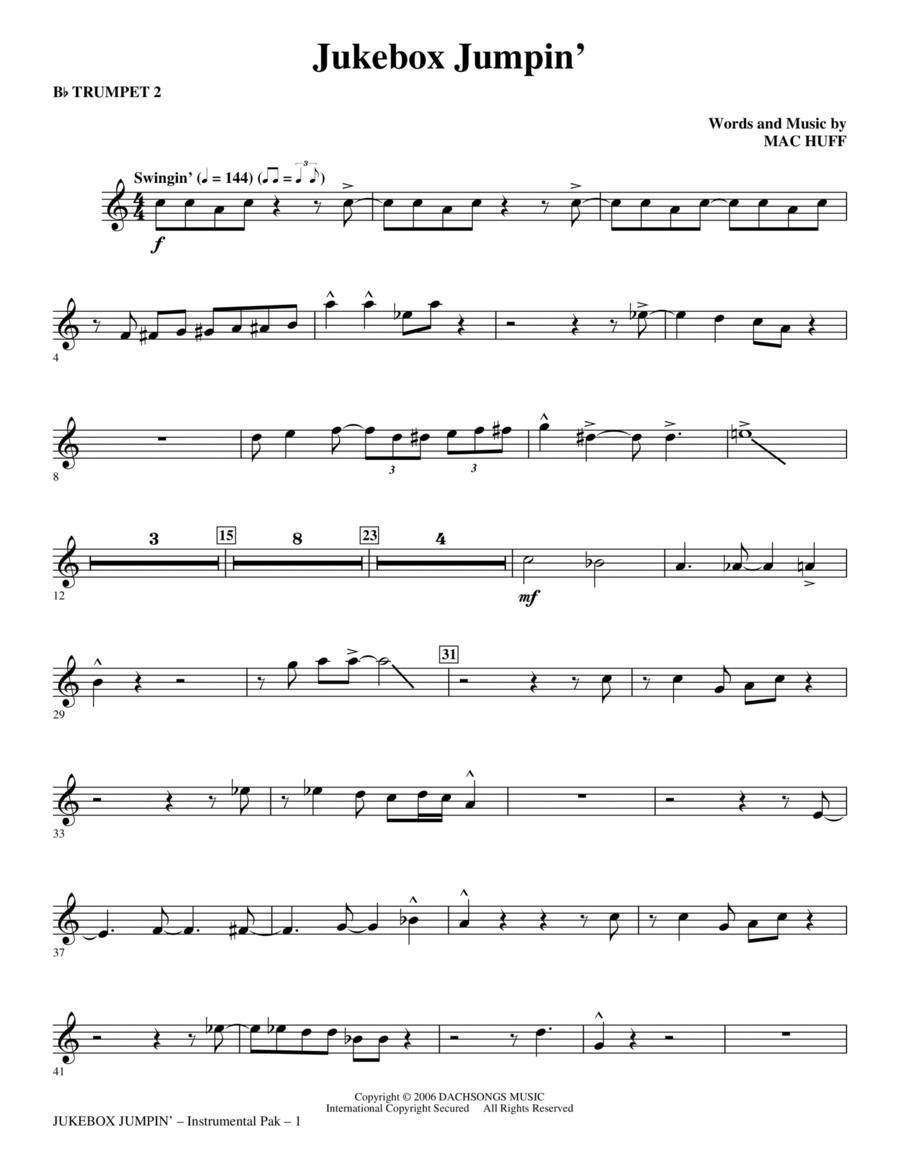 Jukebox Jumpin' - Trumpet 2