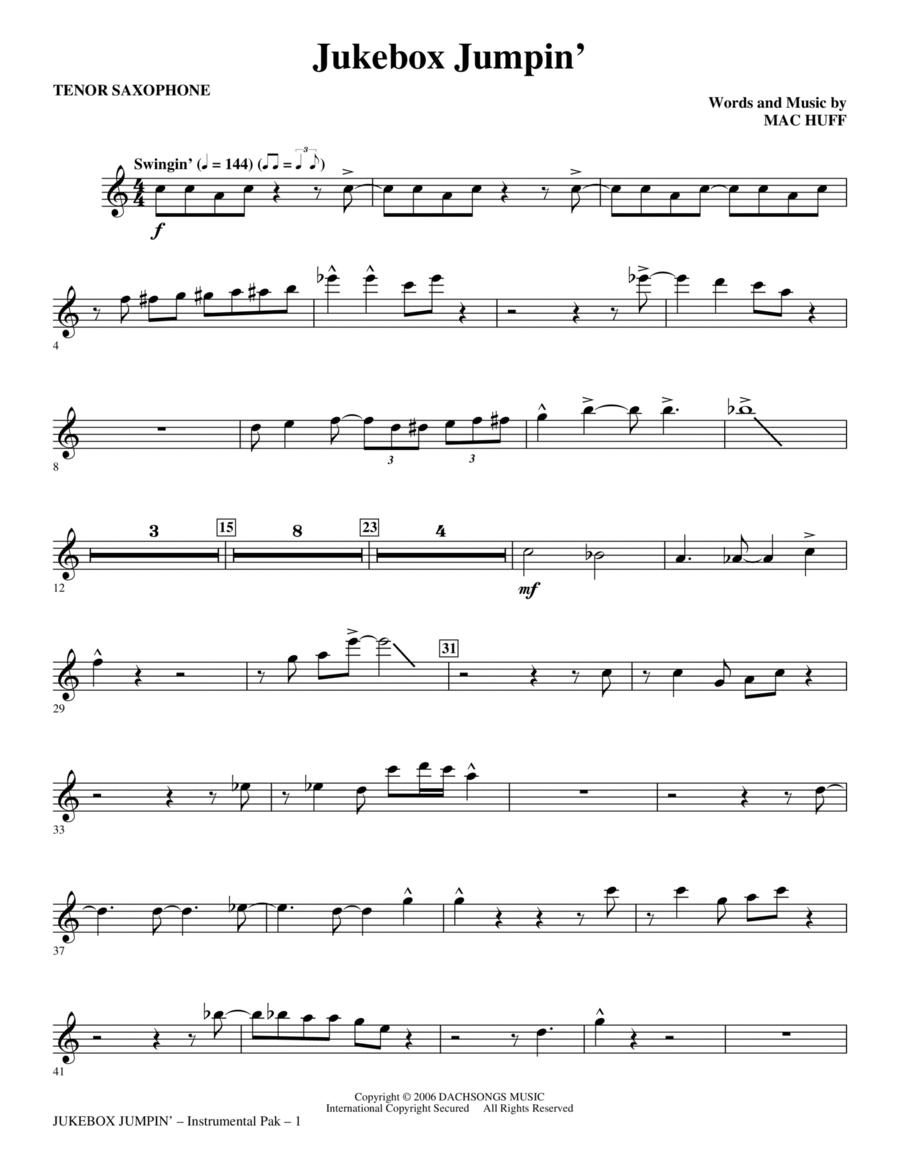 Jukebox Jumpin' - Tenor Sax
