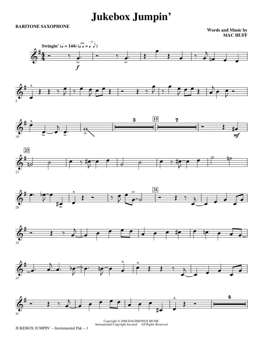 Jukebox Jumpin' - Baritone Sax