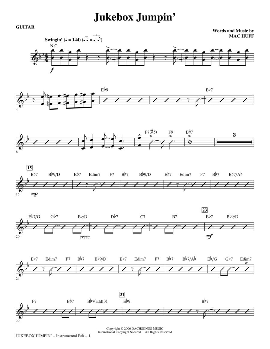 Jukebox Jumpin' - Guitar