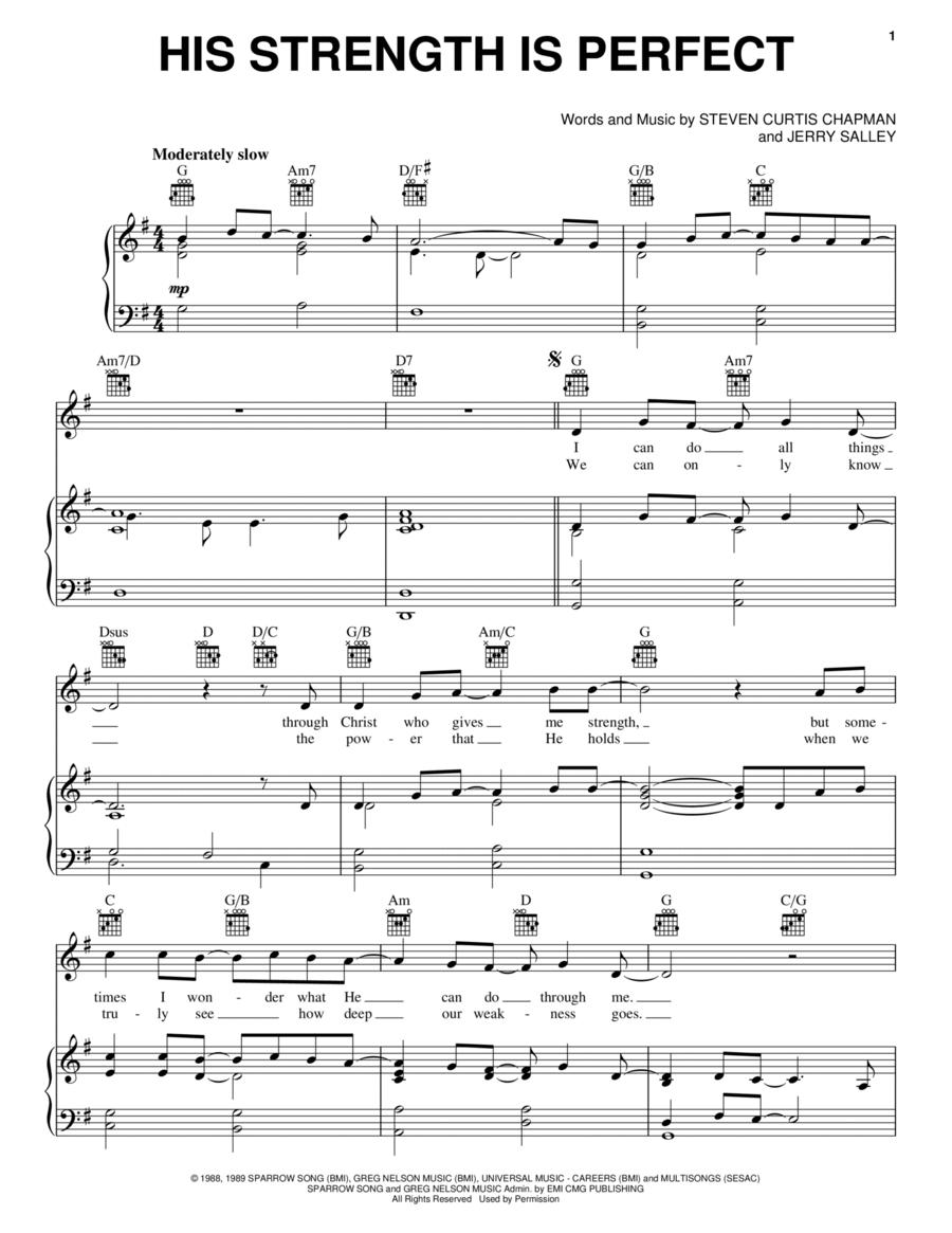 hedley perfect piano sheet music pdf