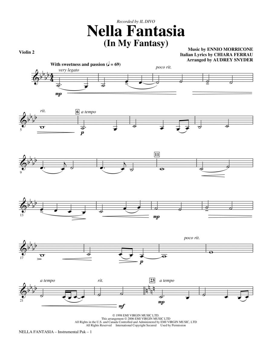 Nella Fantasia (In My Fantasy) - Violin 2