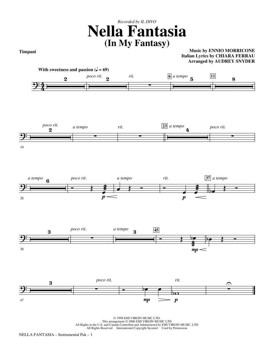 Nella Fantasia (In My Fantasy) - Timpani