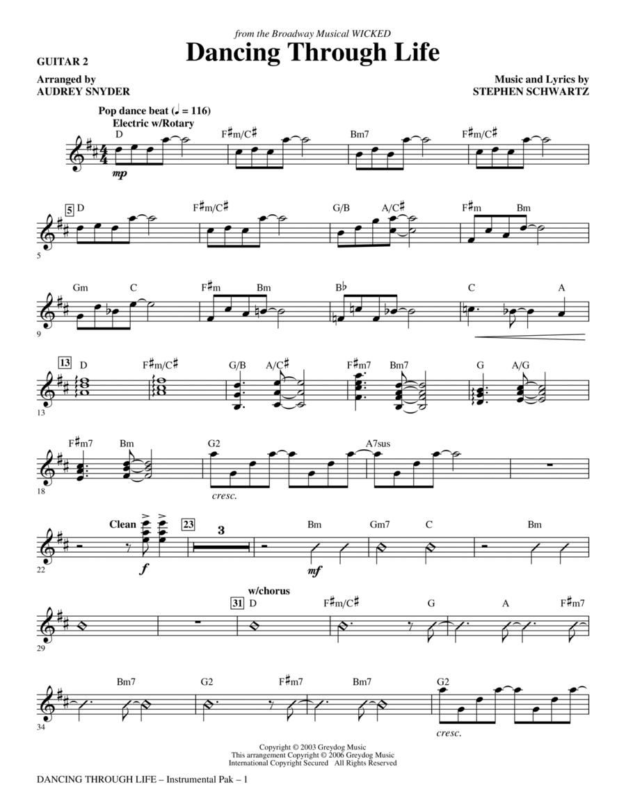 Dancing Through Life - Guitar 2