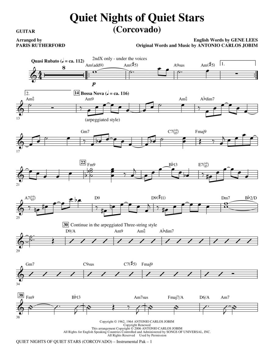 Quiet Nights of Quiet Stars (Corcovado) - Guitar