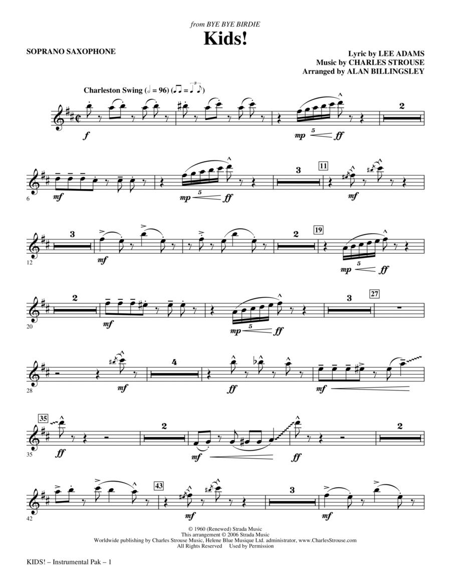 Kids! - Soprano Sax