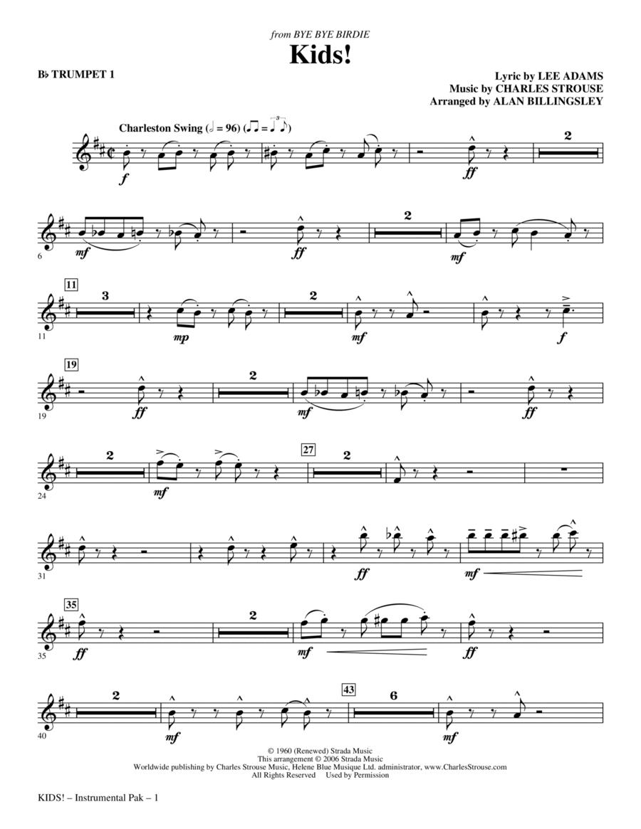 Kids! - Bb Trumpet 1