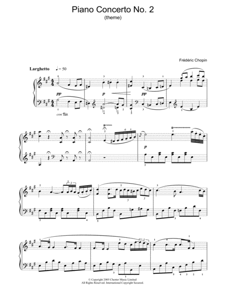 Piano Concerto No. 2 In F Minor