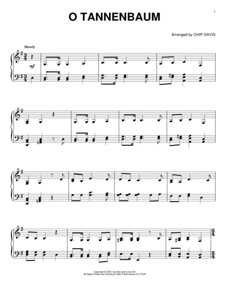 Download o tannenbaum sheet music by mannheim steamroller - Obi tannenbaum ...