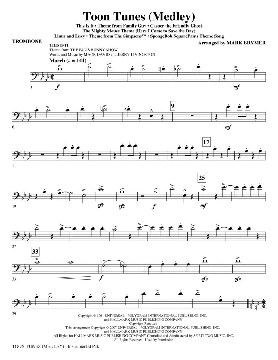 Toon Tunes - Trombone