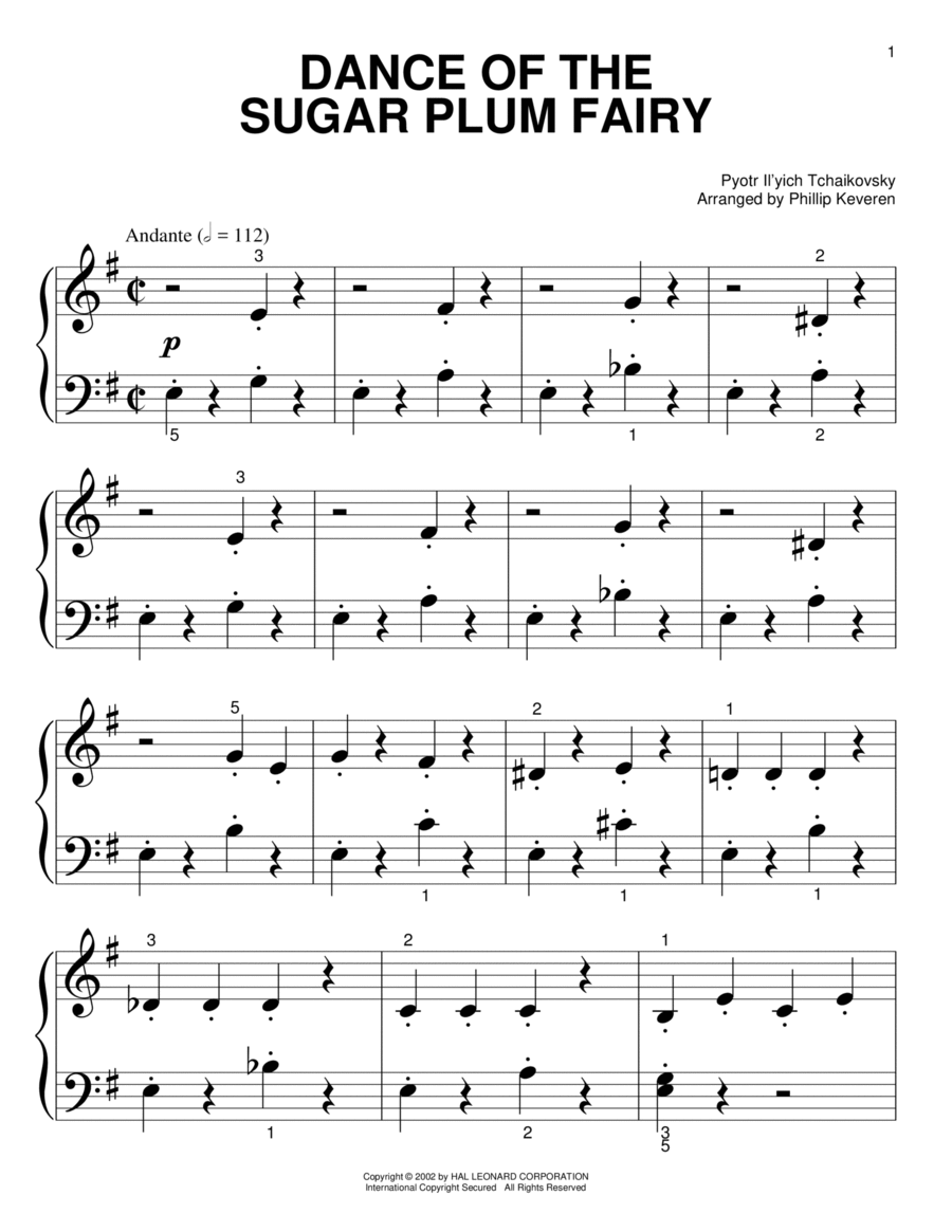 Dance Of The Sugar Plum Fairy
