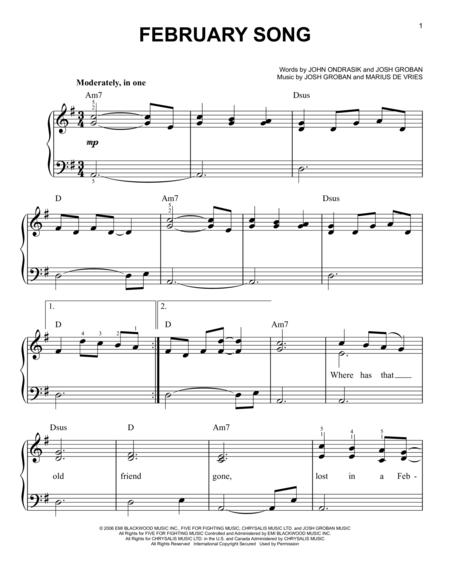 February Song