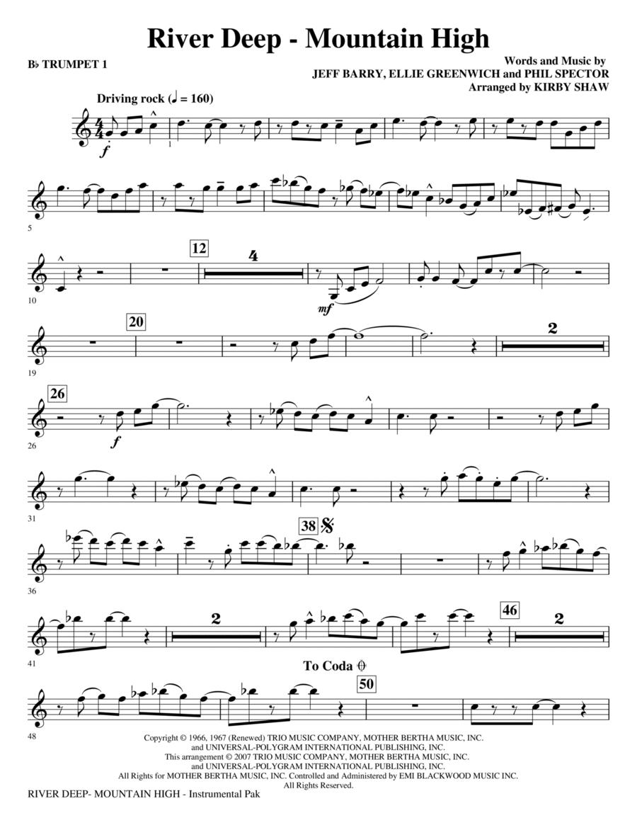 River Deep - Mountain - Bb Trumpet 1
