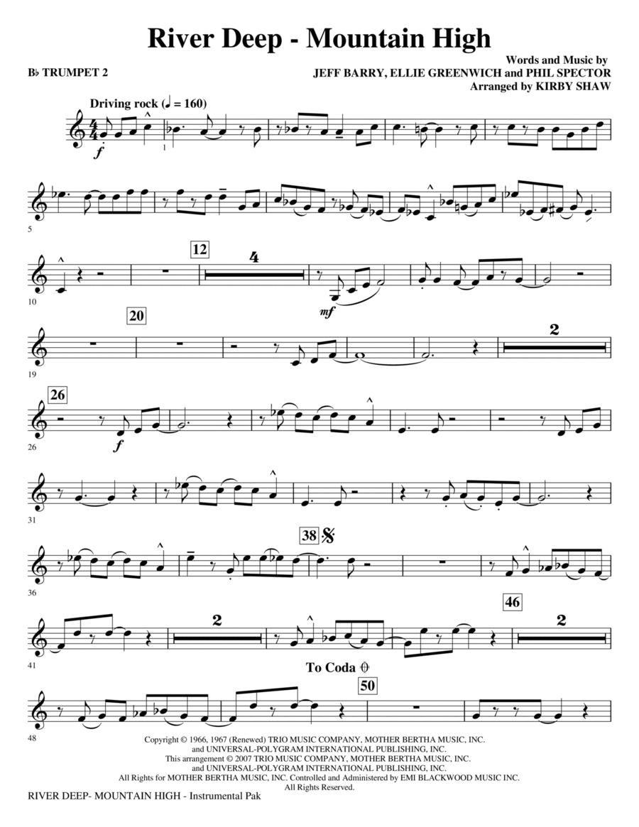 River Deep - Mountain - Bb Trumpet 2