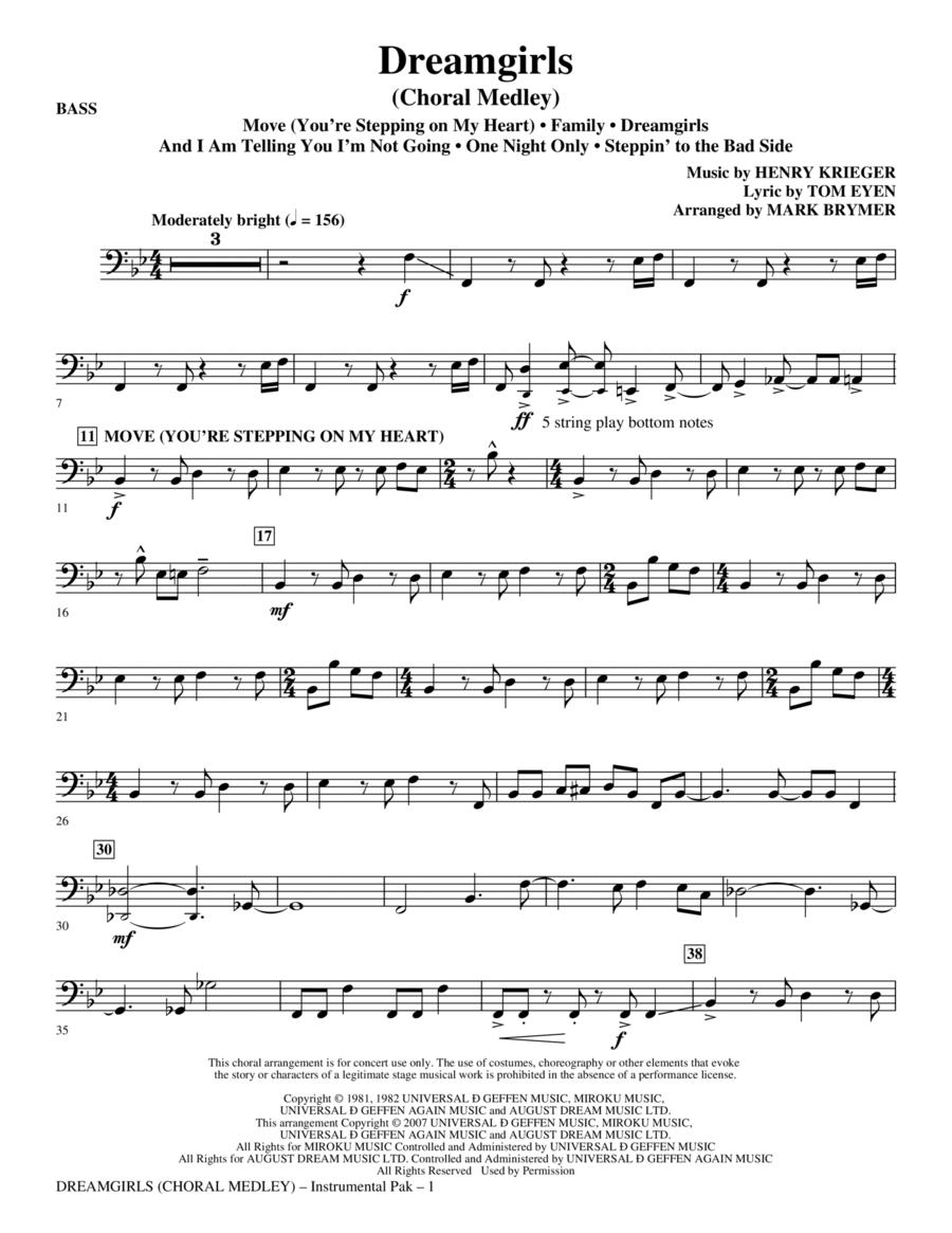 Dreamgirls (Choral Medley) - Bass