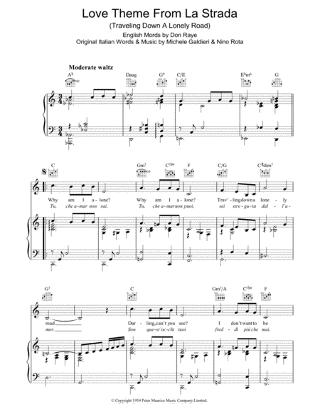 Love Theme (from La Strada)