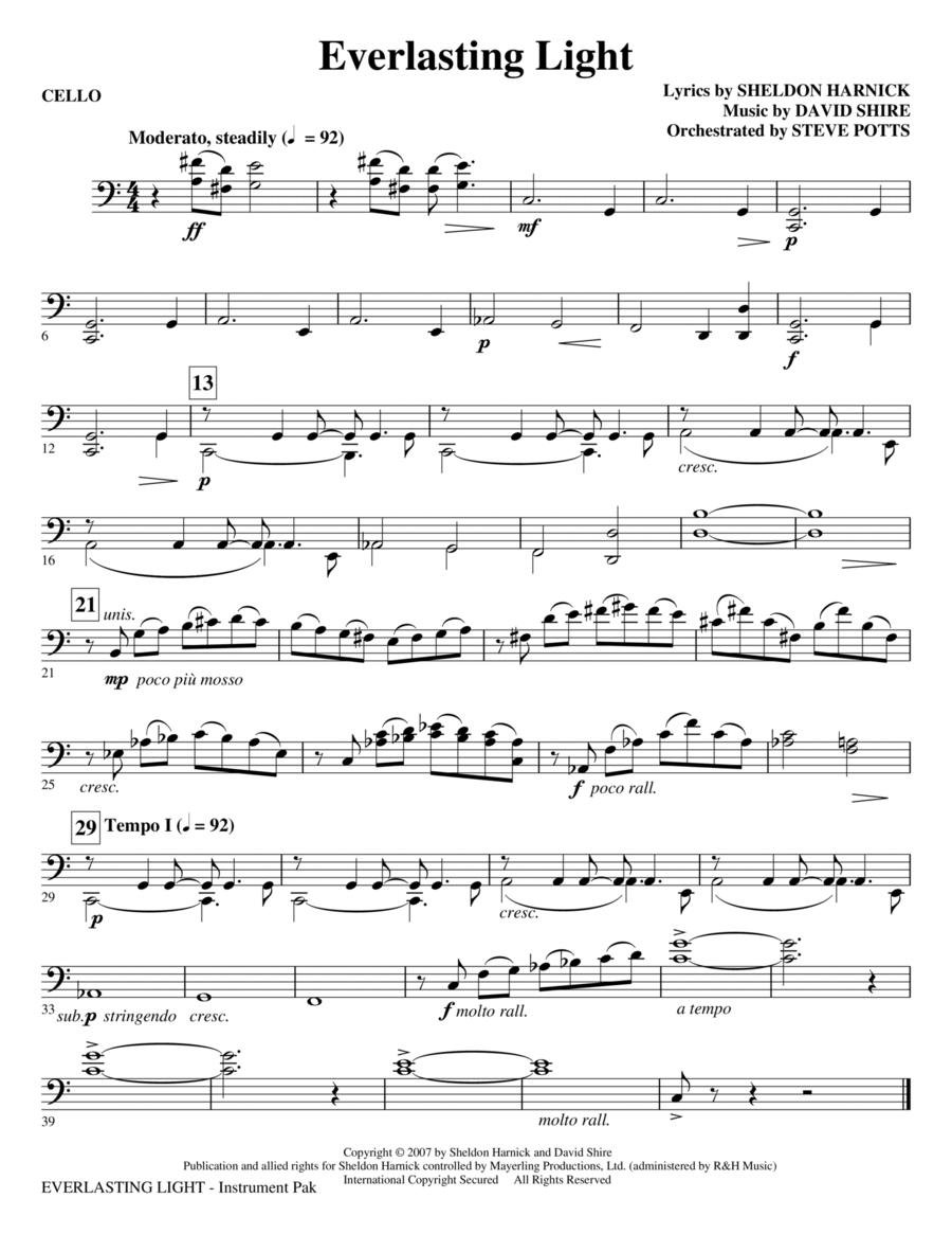 Everlasting Light - Cello