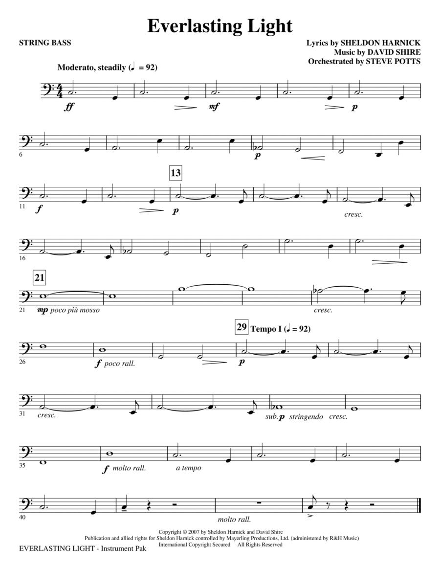 Everlasting Light - String Bass