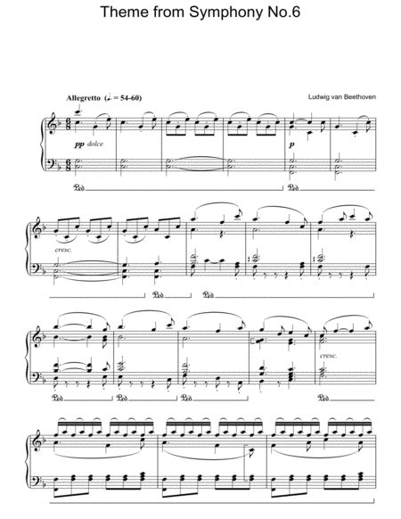 Symphony No.6 (Pastoral), 5th Movement