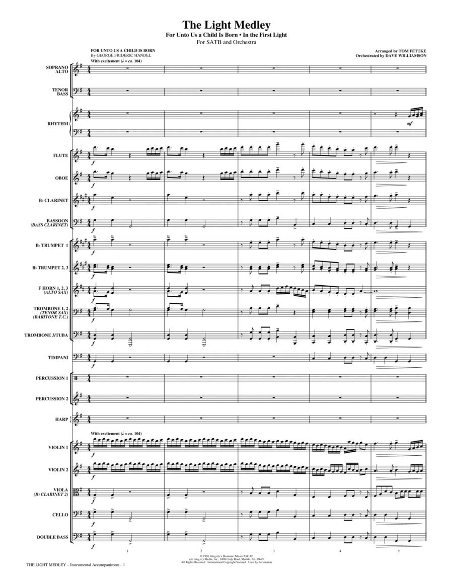 The Light Medley - Full Score