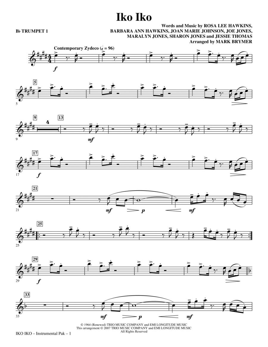 Iko Iko - Trumpet 1