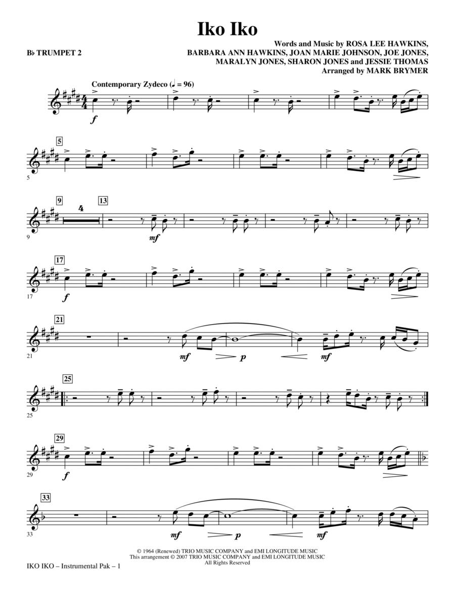 Iko Iko - Trumpet 2