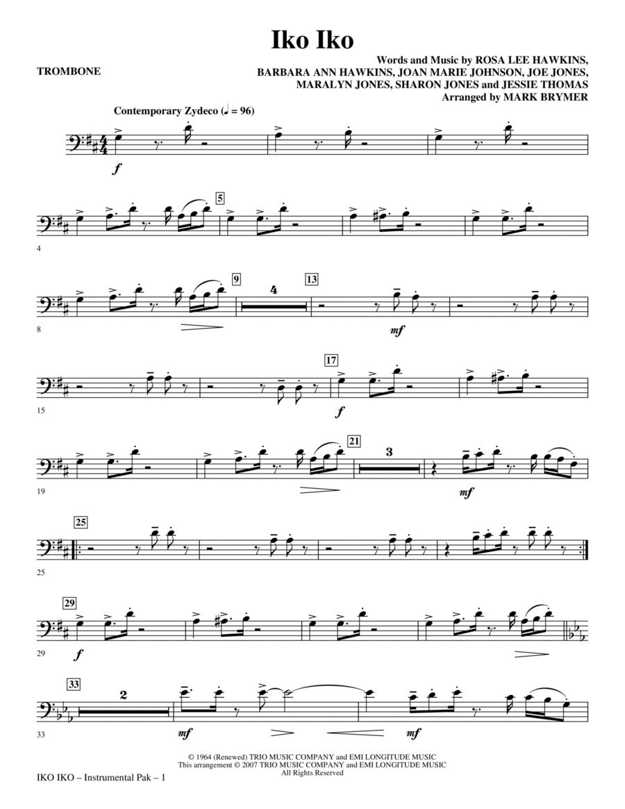Iko Iko - Trombone