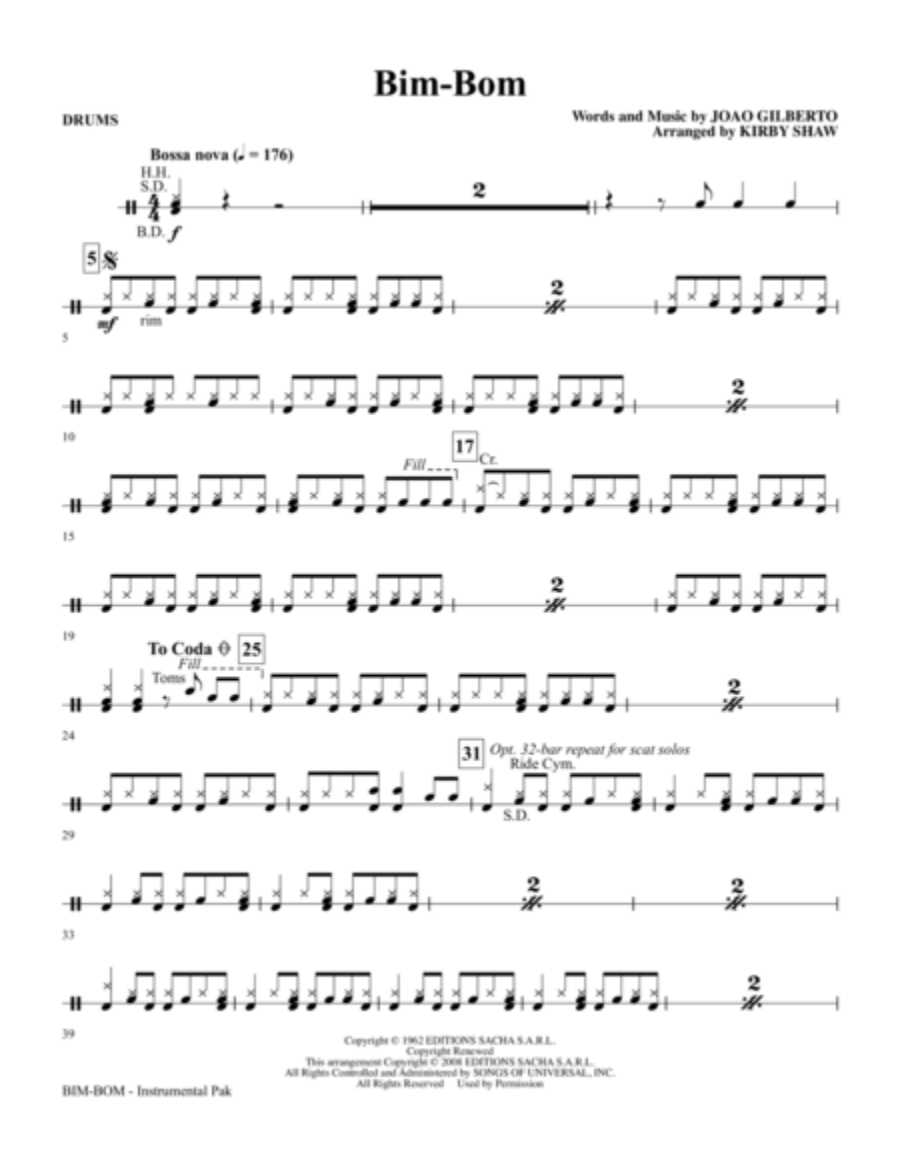 Bim-Bom - Drums