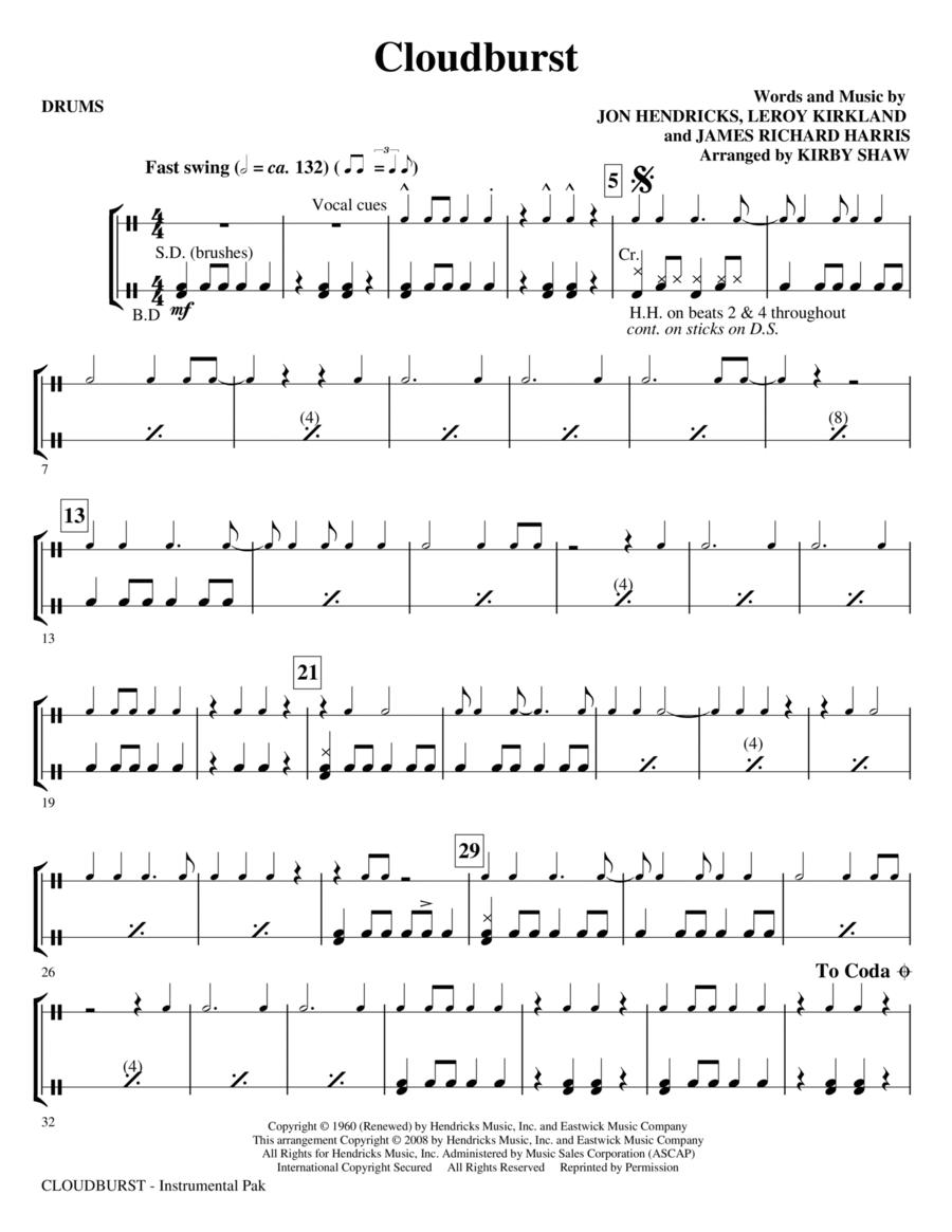 Cloudburst - Drums
