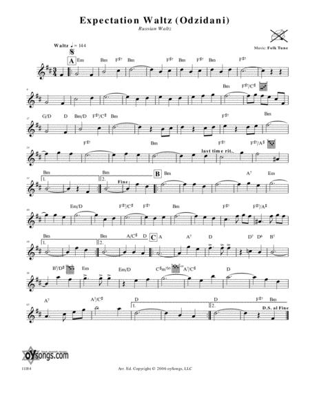 Expectation Waltz (Odzidani) (Russian Waltz)