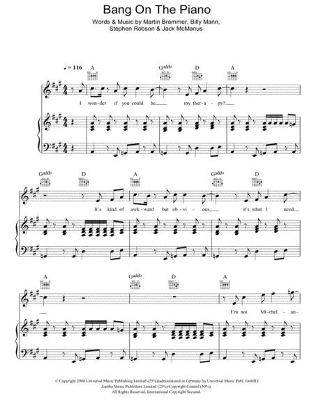 Bang On The Piano