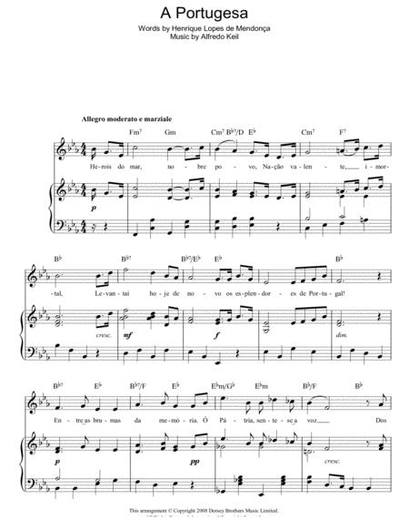 A Portugesa (Portuguese National Anthem)