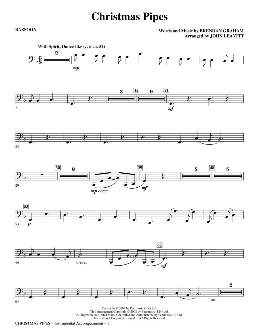 Christmas Pipes - Bassoon