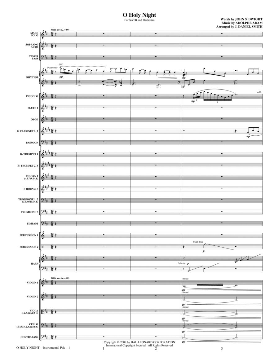 O Holy Night - Full Score