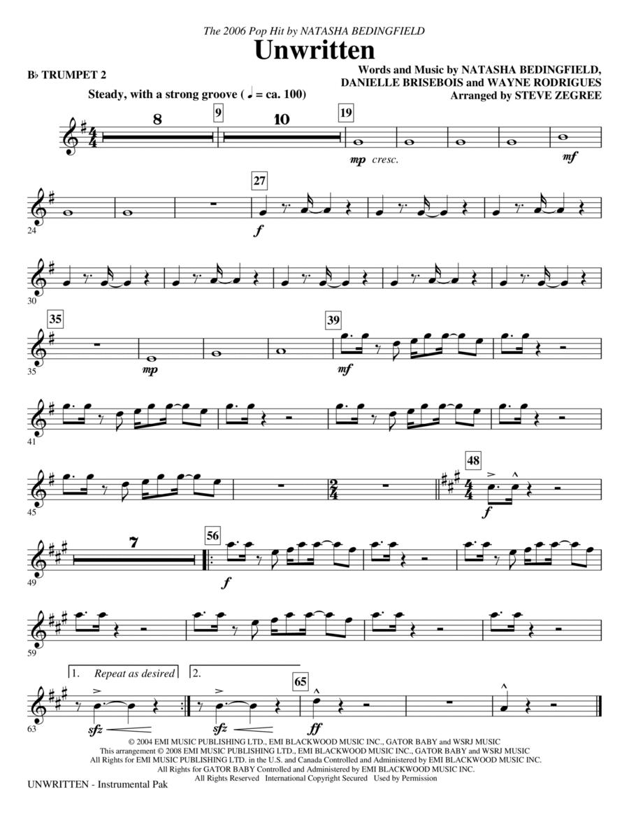 Unwritten - Trumpet 2