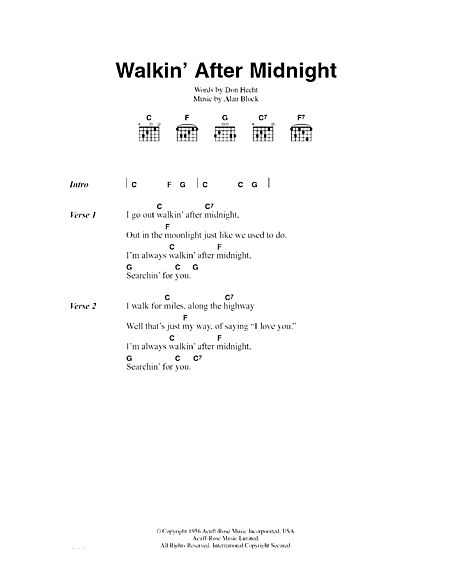 Walkin' After Midnight