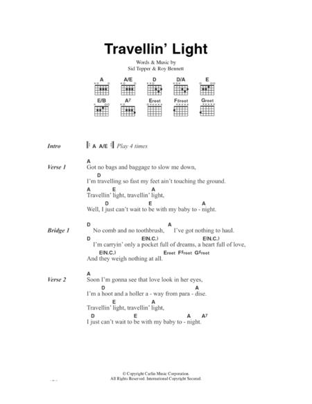 Travellin' Light
