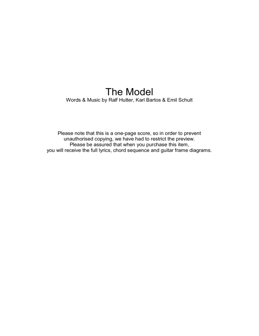 The Model