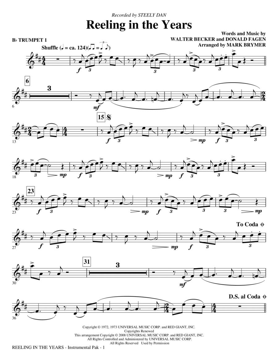 Reeling In The Years - Trumpet 1