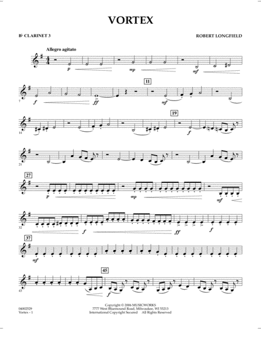 Vortex - Bb Clarinet 3