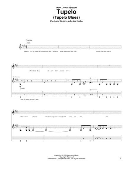 Tupelo (Tupelo Blues)