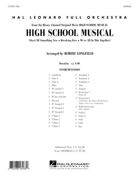 High School Musical - Full Score