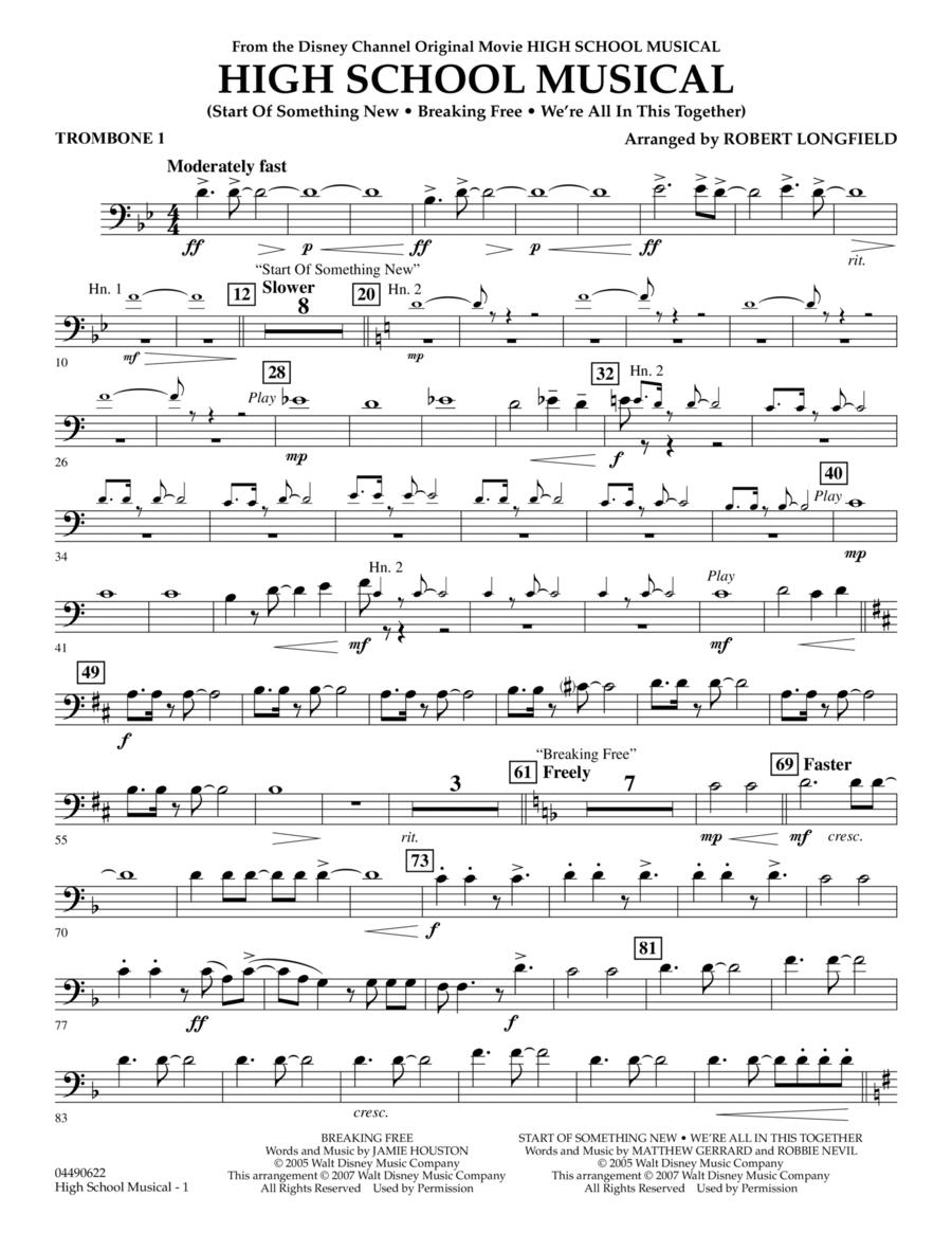 High School Musical - Trombone 1