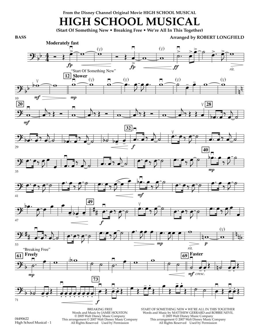 High School Musical - Bass