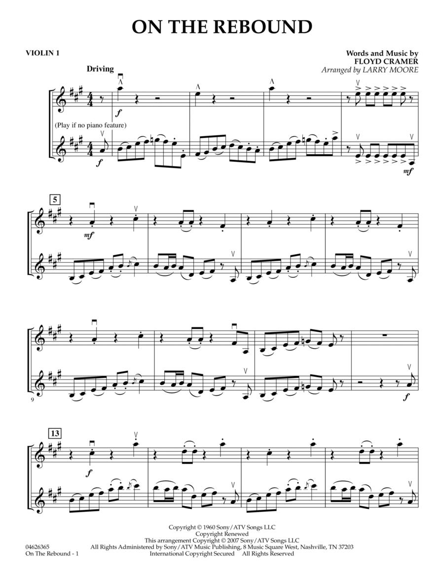 On the Rebound - Violin 1