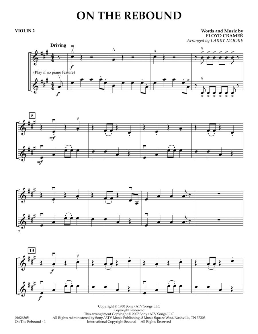 On the Rebound - Violin 2