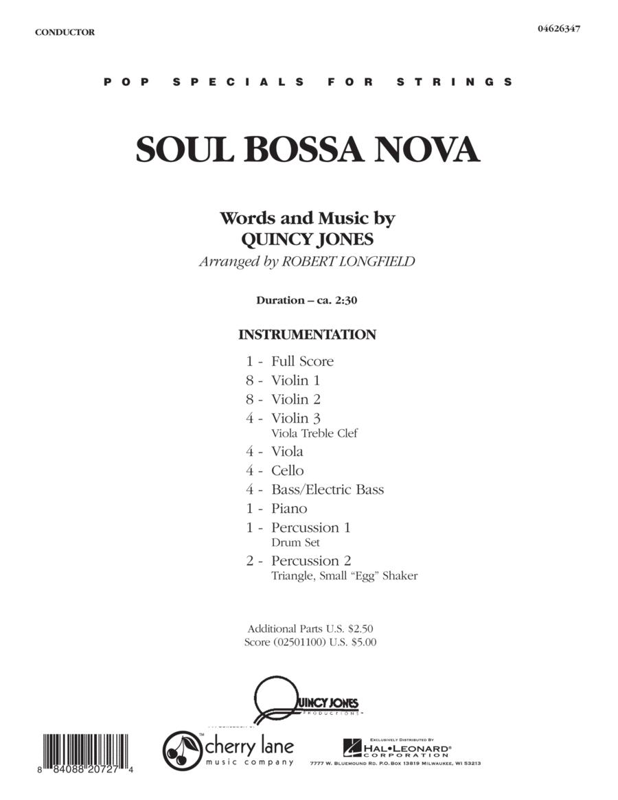Soul Bossa Nova - Full Score