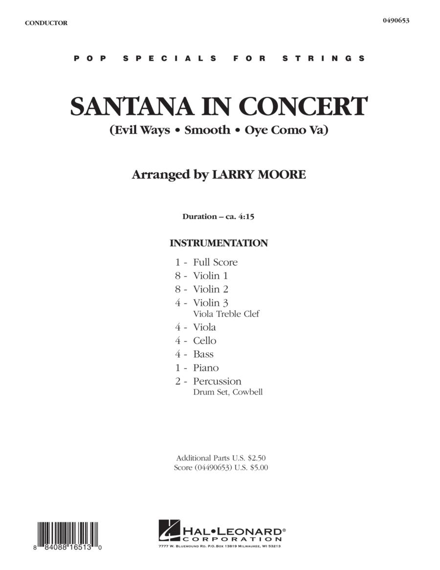 Santana in Concert - Full Score