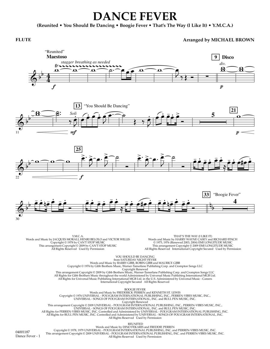 Dance Fever - Flute