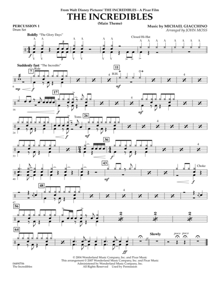 drum solo sheet music pdf